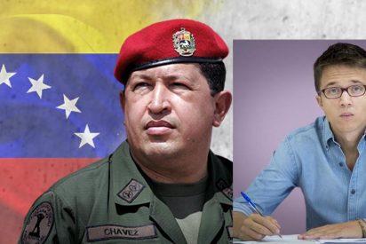 'Beca black' Errejón se indigesta con su ataque a Vox al hacerle tragar una buena ración de sus 'memorables' apoyos al chavismo