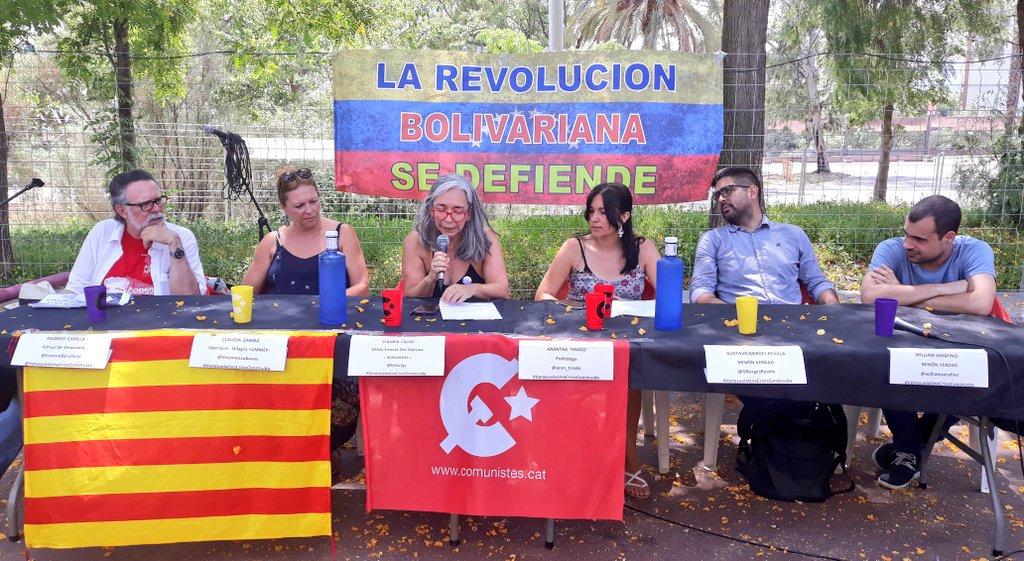 Chavistas e 'indepes' catalanes ignoran la violación de DDHH en Venezuela pero reafirman su afán por el dinero