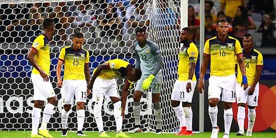 Mucha cerveza y tequila: El escándalo de la selección de Ecuador en la Copa América