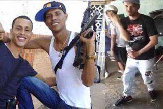 """Guerra en barriada de Caracas: """"El Coqui"""" tiroteó a efectivos de la policía chavista y lo celebró bailando (VÍDEO)"""