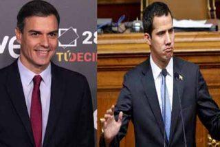 Radiotelevisión Española de Sánchez menosprecia a Guaidó y no lo reconoce como presidente interino