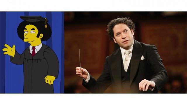 """Polémica por la aparición de Gustavo Dudamel en Los Simpson: """"Continúa la legitimación del colaboracionista de la tiranía chavista"""""""