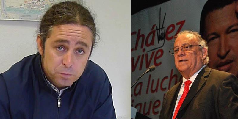 La Embajada chavista de Madrid se refuerza y 'ficha' a un dirigente de Izquierda Unida