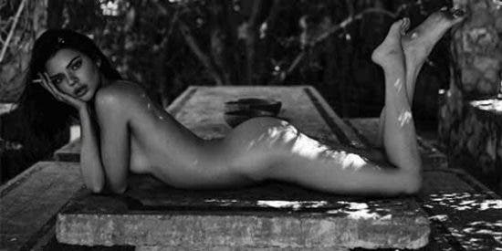 "Kendall Jenner se atreve al ""Bottle Cap Challenge"" con un diminuto hilo amarillo"