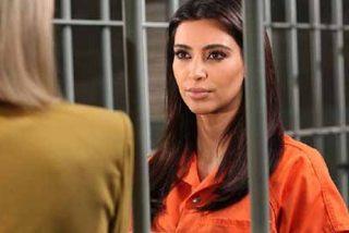 Kim Kardashian va a la cárcel y las imágenes se hacen virales en segundos