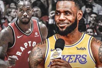 Los Lakers de Lebron James a punto de fichar al campeón Kawhi Leonard