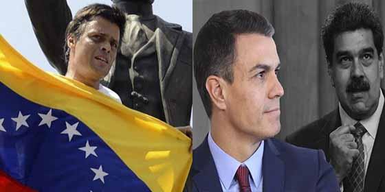 Leopoldo López ignoró las ataduras de Sánchez y Borrell y llamó a los venezolanos a las calles contra Maduro