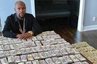 """""""Mr. Money"""" Mayweather celebró el Día de """"su"""" Independencia con una parte de su fortuna"""