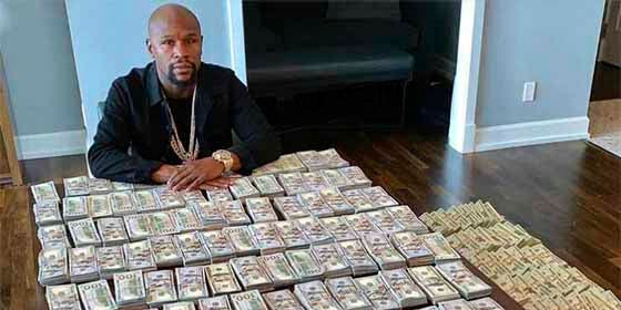 """Mr. Money"" Mayweather celebró el Día de ""su"" Independencia con una parte de su fortuna"