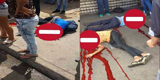 ¡Paz socialista!: A tiros de fusiles y pistolas acribillan a 7 personas en Venezuela