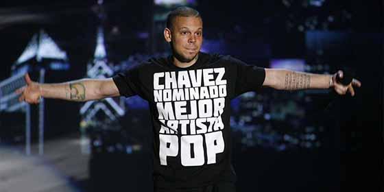 """El comunista de """"Calle 13"""" que defiende a Maduro promueve la salida del gobernador de Puerto Rico"""