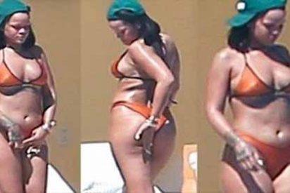 Captan a Rihanna en bikini y le caen críticas por todos lados