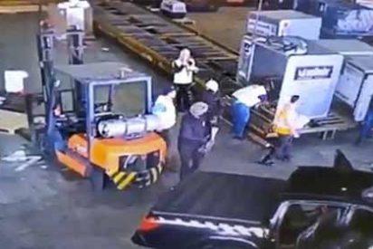 Detienen a dos sujetos por el robo de 700 kilos de oro en el aeropuerto de Brasil