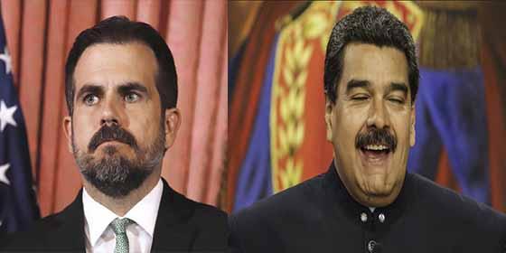 Venezolanos desolados por seguir bajo la bota chavista mientras Roselló renunció en Puerto Rico