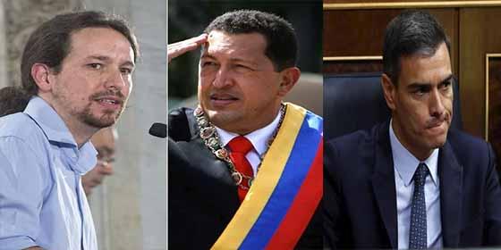 El vídeo de Hugo Chávez que aterroriza a Pedro Sánchez e impide que pacte con Pablo Iglesias