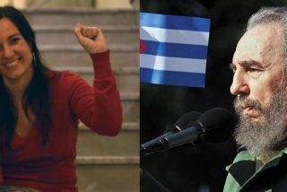 La Embajada chavista en Barcelona y su 'nueva Pablo Iglesias' celebran con los indepes el 66 aniversario de la criminal dictadura castrista