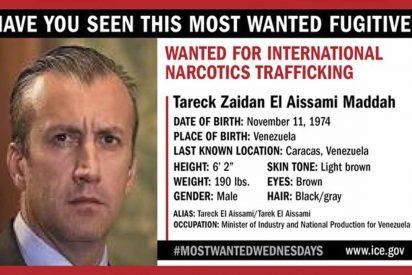 """Estados Unidos incluyó en la lista de """"narcotraficantes más buscados"""" al chavista Tareck El Aissami"""