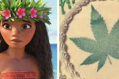 """Una madre ordenó un pastel de """"Moana"""" para su hija, pero el pastelero entendió """"marihuana"""""""
