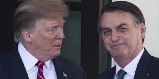 """Bolsonaro habló sobre los barcos iraníes en Brasil: """"Estamos alineados con EEUU, sabemos qué hacer"""""""