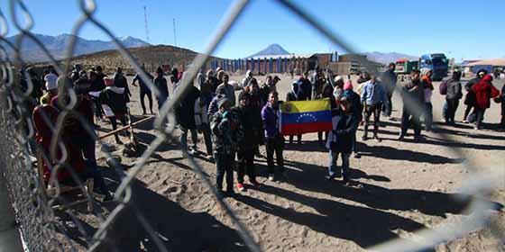 """La canción ofensiva de la campaña xenófoba contra los venezolanos en Chile: """"Cerremos las fronteras"""""""