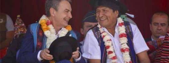 """Una senadora boliviana acusa a Zapatero, Sánchez e Iglesias de ser cómplices del sátrapa Evo: """"Vienen a sembrar el caos y a apadrinar la dictadura"""""""