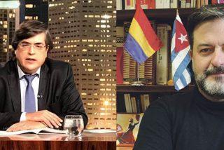 """Un periodista de una TV de Miami humilla al podemita Manu Pineda por apoyar a Maduro: """"Esta croqueta andaluza es otro tonto útil de la dictadura"""""""