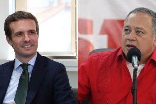 El chavista Diosdado Cabello amenaza a Pablo Casado:
