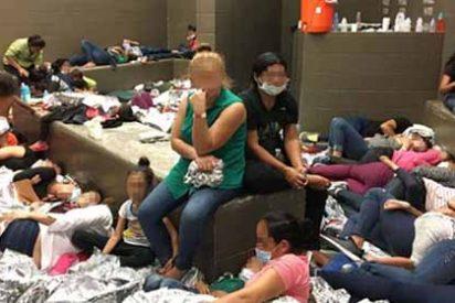 Las fotos que muestran el terrible hacinamiento en los centros de detención de inmigrantes por las políticas de Trump