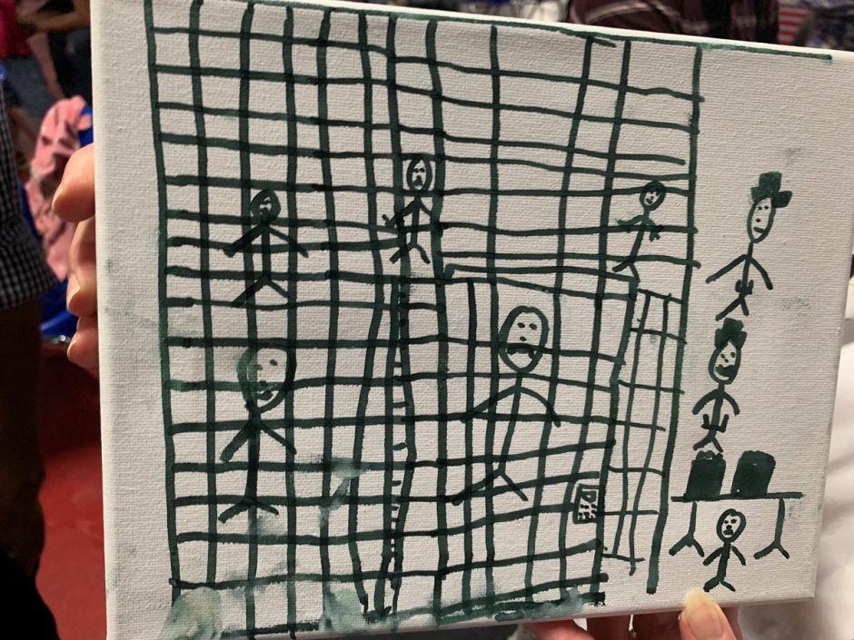 Fotos: Los escalofriantes dibujos de niños inmigrantes detenidos en EEUU