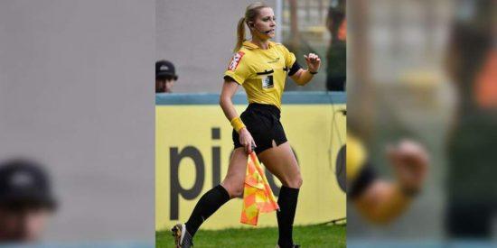 Indignante propuesta sexual a una famosa árbitro de fútbol: