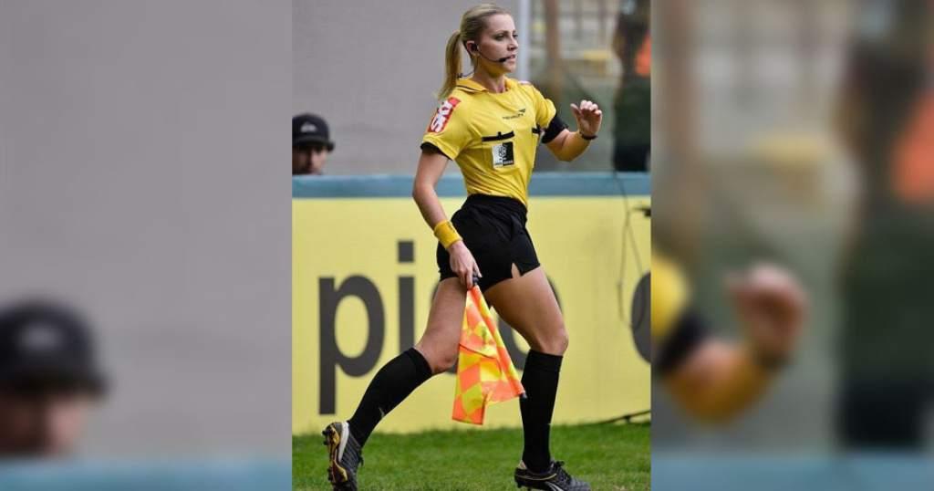 """Indignante propuesta sexual a una famosa árbitro de fútbol: """"Me hizo sentir una basura"""""""