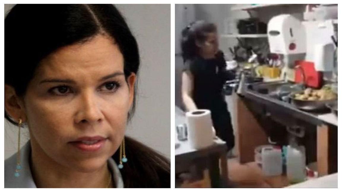 El 'drama' de la Defensora del Pueblo chavista: vive lavando platos en España y con el rechazo de los bolivarianos y opositores