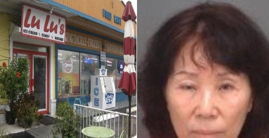 """Una china orina y escupe en los helado de una tienda por ser su """"competencia"""""""