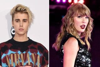 Justin Bieber mete la pata con Taylor Swift y tuvo que disculparse por su hiriente mensaje