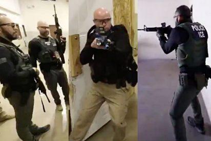 EEUU: El duro entrenamiento de los agentes migratorios para 'cazar' indocumentados