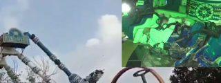 Vídeo: El terrible momento en que un juego mecánico se desploma en India