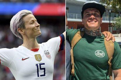 El vergonzoso hermano de la estrella femenina del fútbol de EEUU: Drogas, cárcel y esvásticas