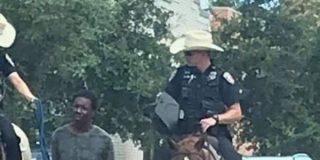 EEUU: Policías arrastran 'al estilo cowboy' a un afroamericano con una cuerda