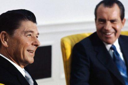 Desvelan la conversación racista que tuvieron los expresidentes de EEUU Ronald Reagan y Richard Nixon