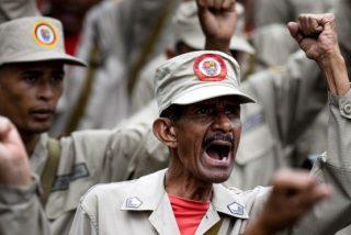 Vídeo: El patético entrenamiento de las milicias chavistas para frenar al ejército de EEUU