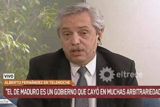 Alberto Fernández desveló que se alineará con Maduro si gana en Argentina