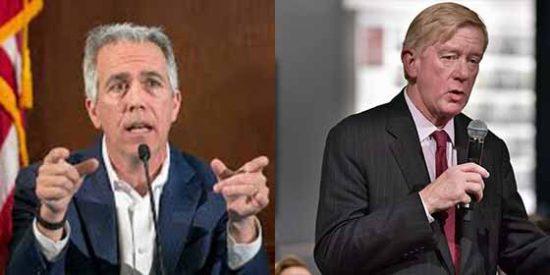 Quiénes son Bill Weld y Joe Walsh, los republicanos que desafían la nominación de Trump para la reelección