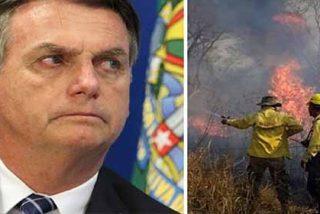 Amazonía en llamas: Las declaraciones de Jair Bolsonaro crean incendios de cacerolazos y protestas