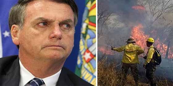 """Bolsonaro acusó a las ONG por los incendio en las Amazonas: """"Puede ser porque les corté el dinero público"""""""