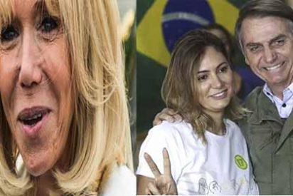 Esto se salió de control: Bolsonaro se burló de la esposa de Macron y el presidente francés le respondió