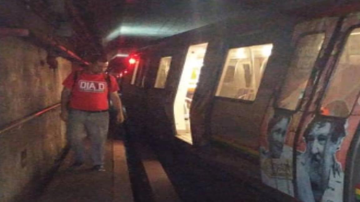 Éxito chavista: Cinco vagones del Metro de Caracas se han descarrilado en 2019