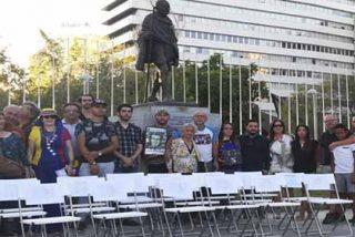 """""""Sillas Vacías"""": Venezolanos conmemoraron en España a las víctimas fatales del dictador Nicolás Maduro"""