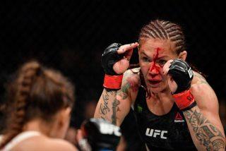 """""""Podía ver mi cráneo"""": La espeluznante lesión de una luchadora de UFC"""