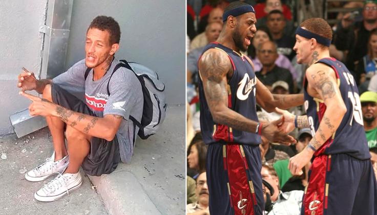 """Fue jugador de la NBA, jugó con Lebron James y ahora difunden imágenes de su indigencia: """"Es muy triste"""""""