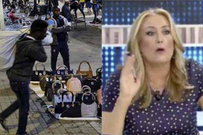 La 'magistrada' Beni se lleva una tunda grupal por justificar descaradamente al 'top manta' en Barcelona
